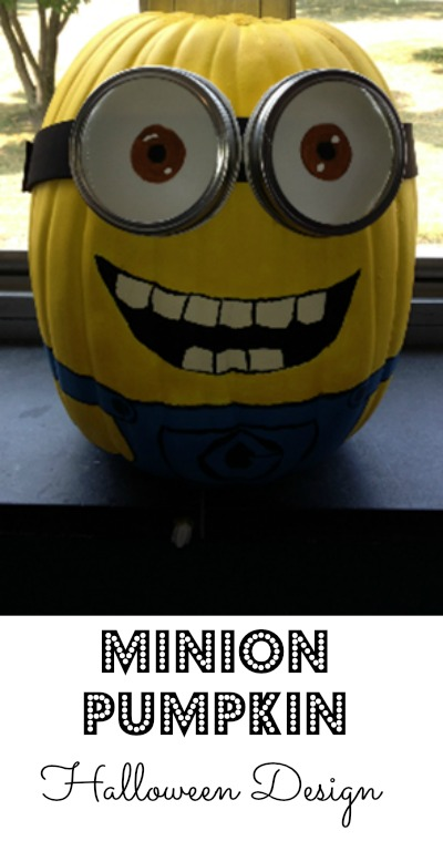 Minion Pumpkin Design Debt Free