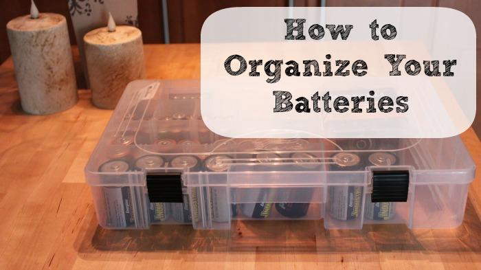 How to Arrange Batteries