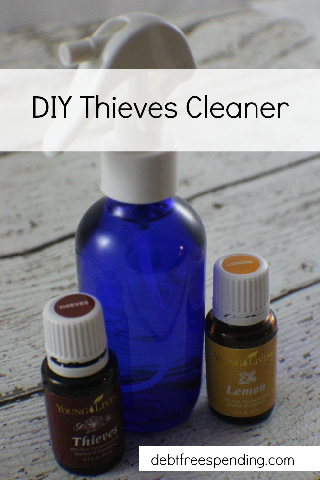 How To Make Your Own Thieves Cleaner Debt Free Spending